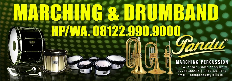 WA 08122 990 9000 Jual Alat Marching Drumband Jogja | Pandu Toko Drumband Header